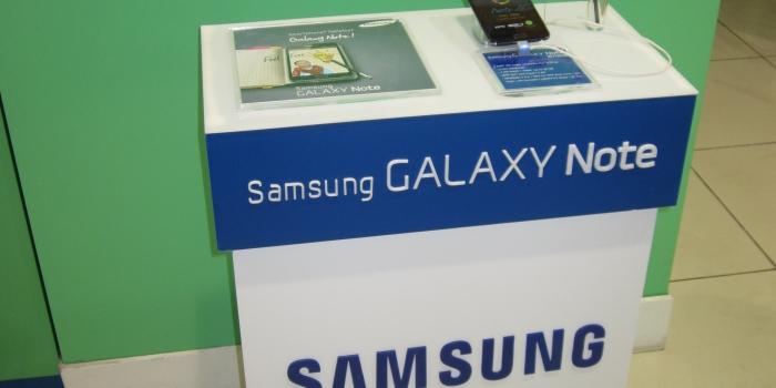 Présentoir SAMSUNG Galaxy NOTE
