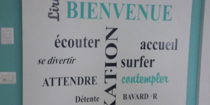 Sticker Mural Nuage de mots