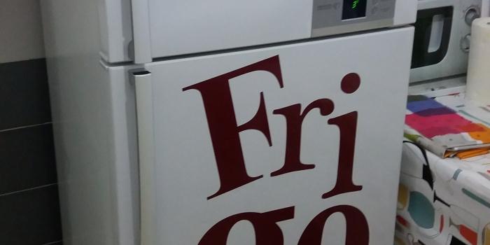 stickers refrigerateur couleur au choix .