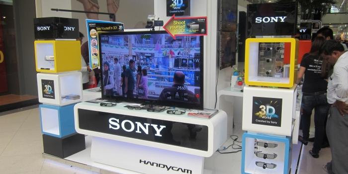 Stand SONY Exporté a Dubai 2017  (2) .