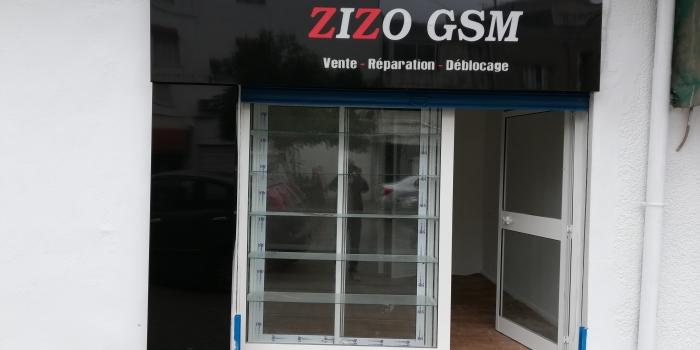 Habillage Partiel Façade Lumineuse ZIZO GSM .